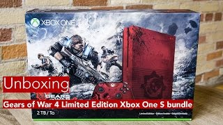 Unboxing the Xbox One S Gears of War edition