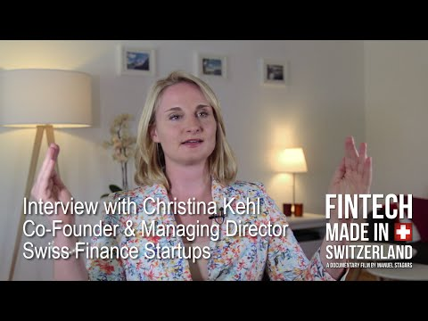 """FinTech Made in Switzerland"": Interview Christina Kehl, Swiss Finance Startups"