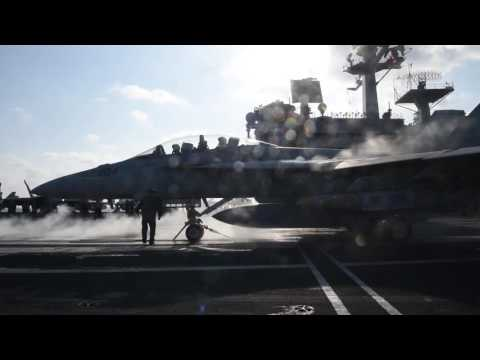 USS George H.W. Bush launches strikes against ISIS targets