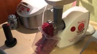тест мясорубки moulinex hv4 me45