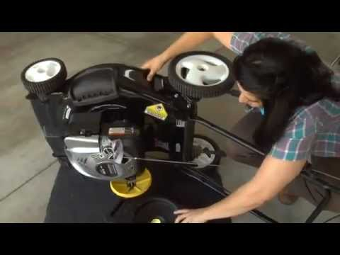 How To Change Your Briggs Amp Stratton S Engine Oil Youtube