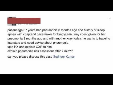 How to pass Pneumonia recall amc clinical