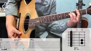[그랩더기타] Shape Of My Heart - Sting (스팅) [Guitar Tutorial/통기타 강좌] Video