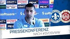 Darmstadt 98 | Pressekonferenz nach SVD-SVWW