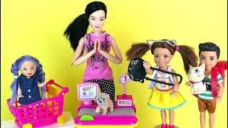 УМНЫЙ ПЛАН Бука осталась ни с чем  Мультик #Барби Школа Игры для девочек