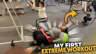MY WORKOUT ROUTINE WHAT I DO WITH MY TRAINER  | FT. VALENTINE