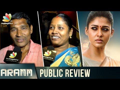 Aramm : Public Review & Reaction   Nayanthara, Ghibran   Tamil Movie