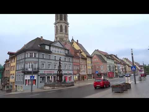 Medieval Center of Rottweil City in Germany -The oldest town in Baden-Württemberg