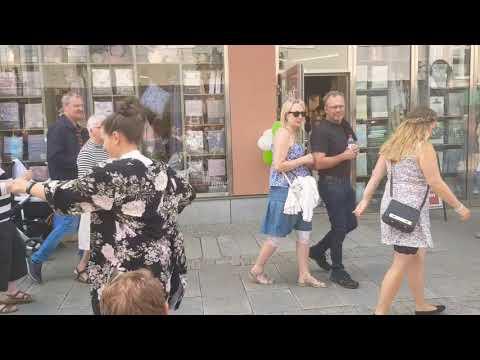 I wanna dance with somebody, Flashmob Joyvoice Alingsås!