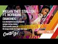 Megan Thee Stallion & Normani - Diamonds (Lyrics + Español) Video Oficial