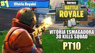 VITORIA ESMAGADORA CAINDO NAS TORRES TORTAS - Fortnite Battle Royale - #ESSAPARTIDAFOICAVALA