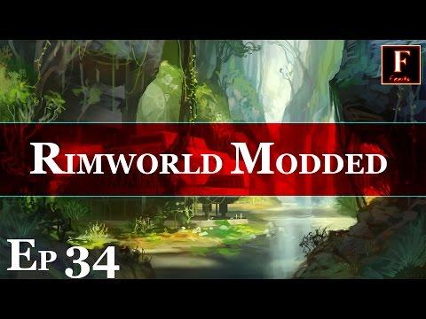 Death and Destruction - Ep 34 Modded RimWorld Alpha 8 - Let's Play Epyk Mod Pack