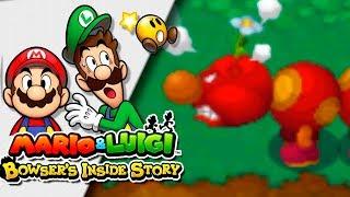 FLORUGA v.s. BOWSER! | Mario & Luigi: Bowser Inside Story 3DS | Ep 9 -- RED SHOCK --