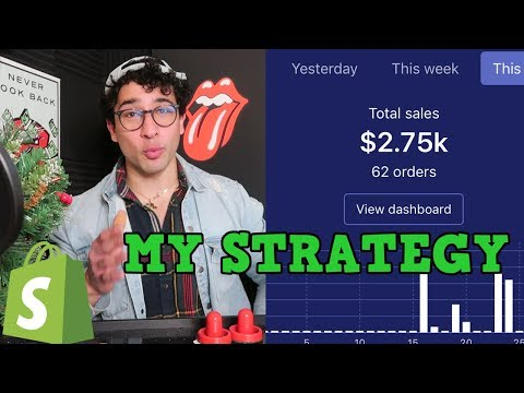 $3000 FIRST WEEK ON SHOPIFY! HERES HOW I DID IT