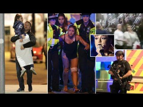 BREAKING NEWS: Terrorist Attack at Ariana Grande Concert in Manchester, England