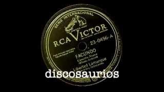 Libertad Lamarque y Orquesta Cosmopolita - Facundo (afro) Eliseo Grenet / La Habana, 1944
