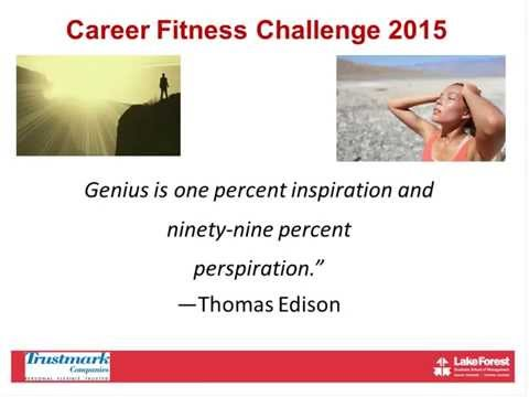 Career Fitness Challenge 2015 - Leadership Learning Series - Corporate Learning Solutions