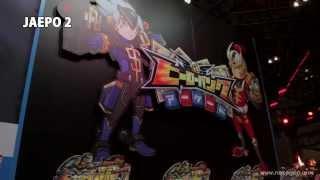 ジャパン アミューズメント エキスポ2014のセガブースで紹介されたアー...