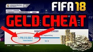 Fifa 18 Geld Cheat!!! - Karrieremodus - Milliardär werden!!