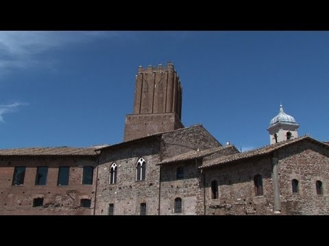 Trajan's Market competes for ancient Rome's tourists