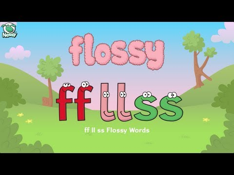 Nessy Spelling Strategy: Flossy Words | FF LL SS | Learn To Spell