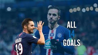 Pablo Sarabia - All 14 goals for PSG - HD