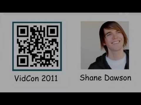 Shane Dawson's Chocolate VidCon QR Code Business Card ...