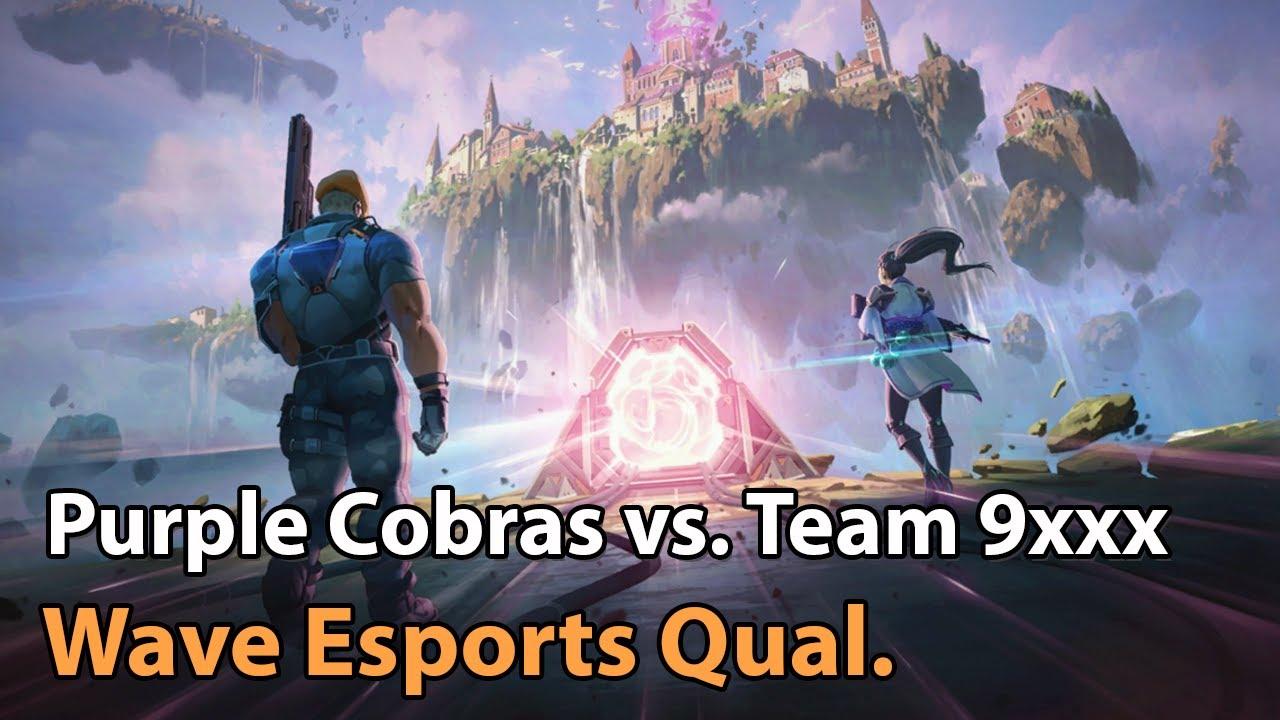 ► Valorant Esports - Purple Cobras vs. 9xxx - Wave Esports Qualifier