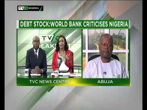 TVC Breakfast 23rd April 2018 | Debt Stock: World Bank criticises Nigeria