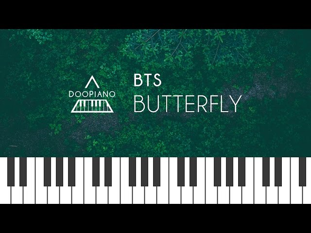 방탄소년단 Bts Butterfly Piano Cover Doopiano