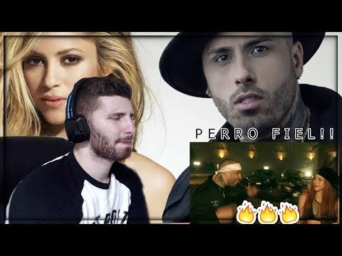 Shakira - Perro Fiel (Official Video) ft. Nicky Jam REACTION