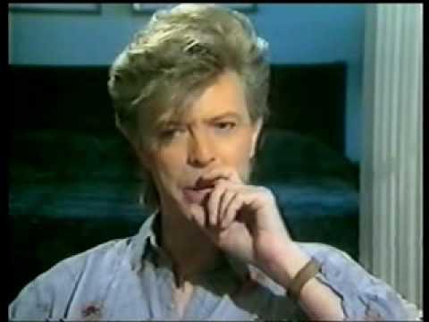 David Bowie, Iggy Pop 1987