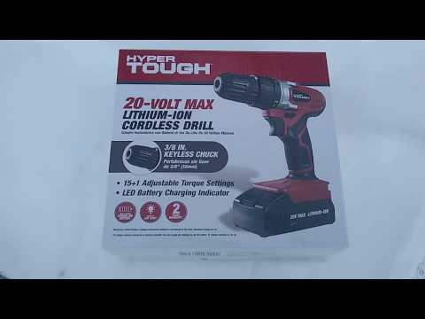 20 volt lithium ion cordless drill review