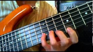 Bach - Cello Suite No. 1 - Gmj - 6 string bass
