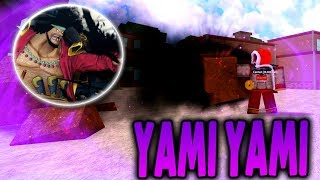 [NEW GAME] YAMI YAMI NO MI DEVIL FRUIT | One Piece Millenium in Roblox | iBeMaine