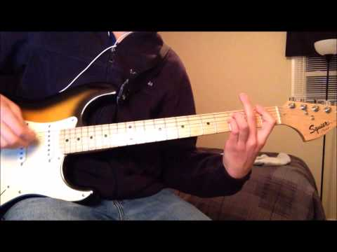 When she says baby- Guitar cover, Jason aldean