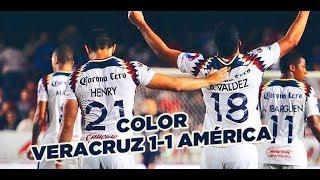 Color Veracruz 1-1 América Jornada 8 Clausura 2018 Liga MX