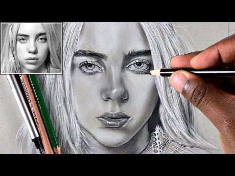 How To Draw Billie Eilish:  Step By Step