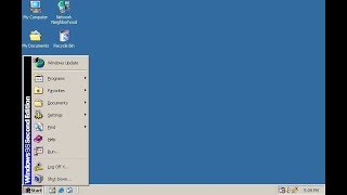 Old Microsoft Windows 98 SE (Second Edition)