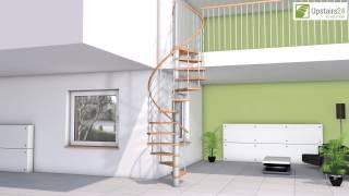Vidéo: Escalier en colimaçon Caparo