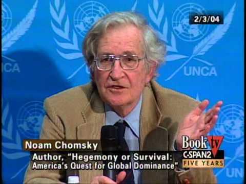 Noam Chomsky Hegemony or Survival