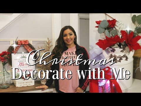 christmas-decorate-with-me-|-holiday-decor-2018