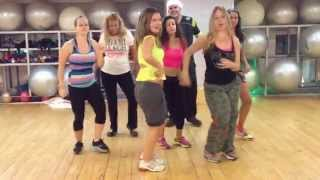 Download Video Zumba with Shlomit (Salo) - Prince Royce  Darte un Beso MP3 3GP MP4