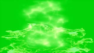 Dragon Ball Z Super Saiyan Flame Aura Effect - Green Screen Compilation