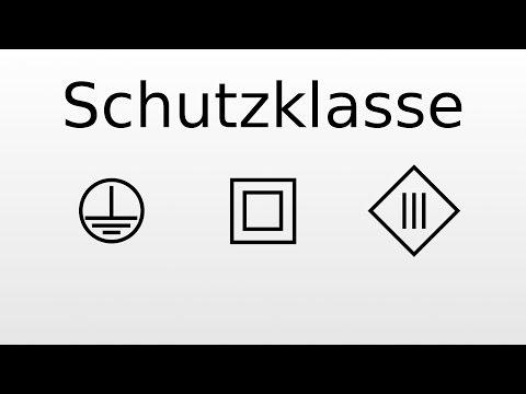 Hervorragend Schutzklasse 1, 2 und 3 - Unterschied / Bedeutung - YouTube VU13