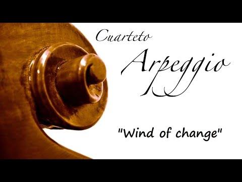 Música para bodas Asturias - Cuarteto Arpeggio Wind of change, Scorpions