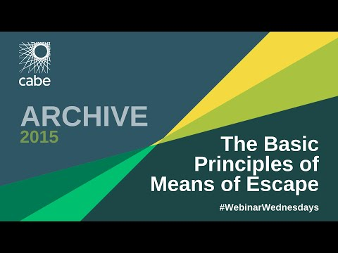 The Basic Principles of Means of Escape