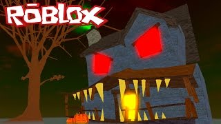Roblox - ESCAPE DE HALLOWEEN (Escape The Haunted House) #VídeoExtra