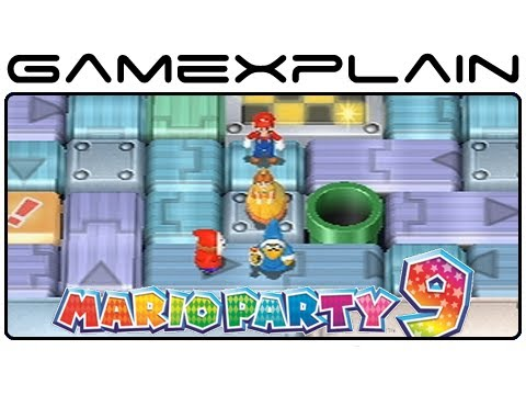 Mario Party 9 Minigame Glitch Player Conveyer Youtube