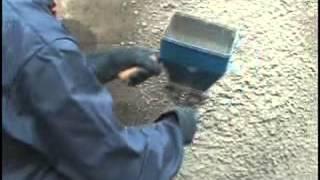 Sablon ou projeteur pneumatique d'enduit (pour mortier) -